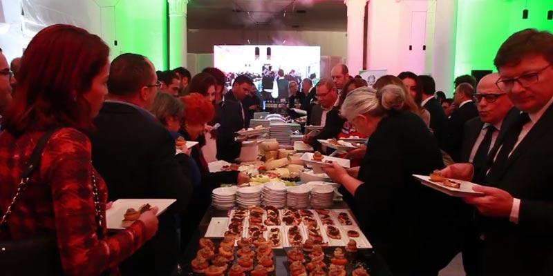 En vidéo : Diner d'ouverture de la semaine de la cuisine italienne à Dar ZAROUK