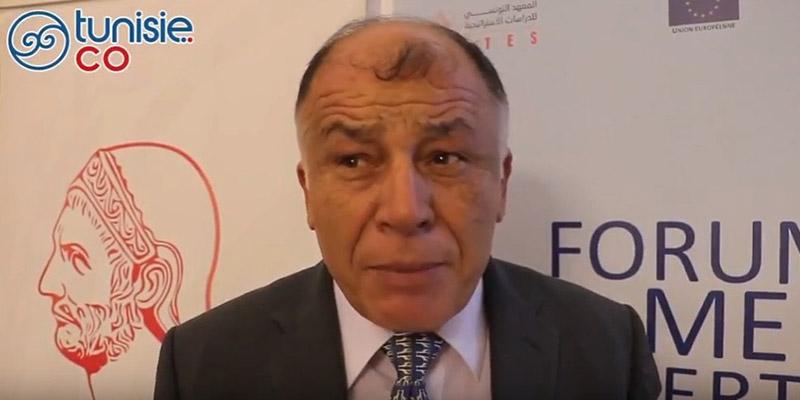 M. Neji Jalloul DG de l'ITES présente le Forum de la Mer
