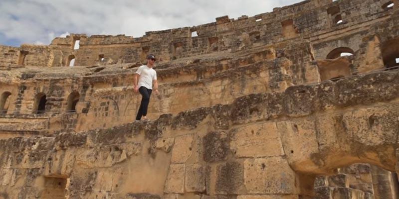 En vidéo : El JEm et Kairouan comme jamais vue par Benoit Chamberland