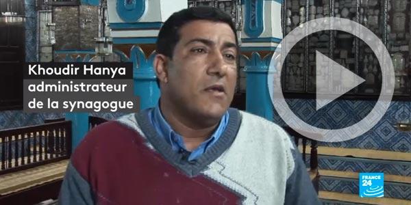 En vidéo : France 24, La communauté juive veut relancer le tourisme en Tunisie