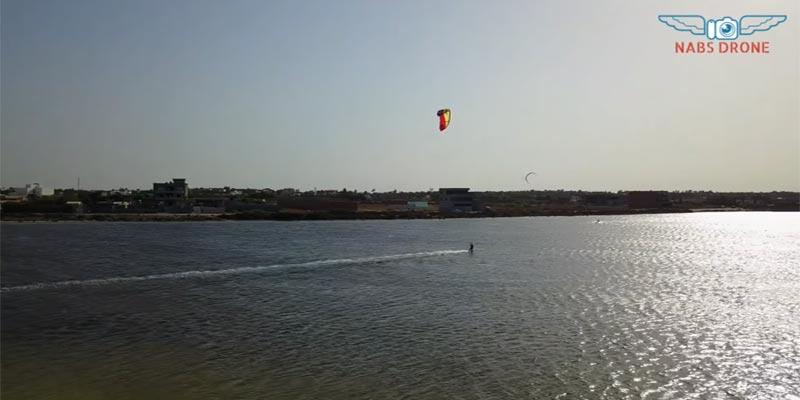 Kitesurf à Bekalta