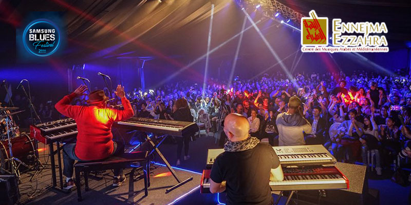 Coup d'envoi du Samsung Blues Festival avec l'incroyable Lucky Peterson