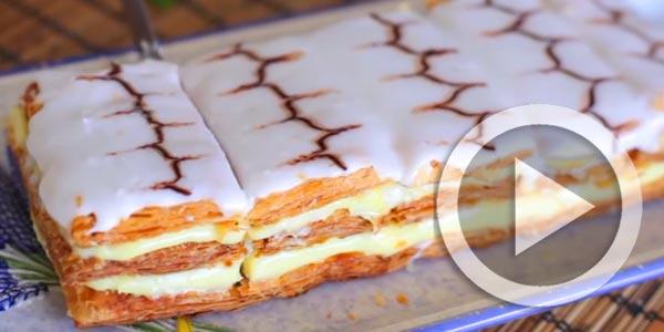 En vidéo : Comment réaliser un mille-feuille comme à la pâtisserie ?