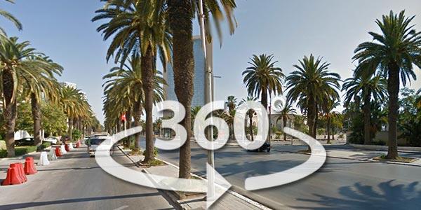 Découvrez Rue Mokhtar Attia en 360° avec Google Street View