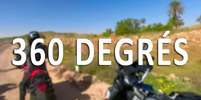 Grace à cette vidéo 360°, profitez de cette balade à Moto au Sud tunisien