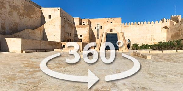 Découvrez le musée archéologique de Sousse en 360° avec Google Street View