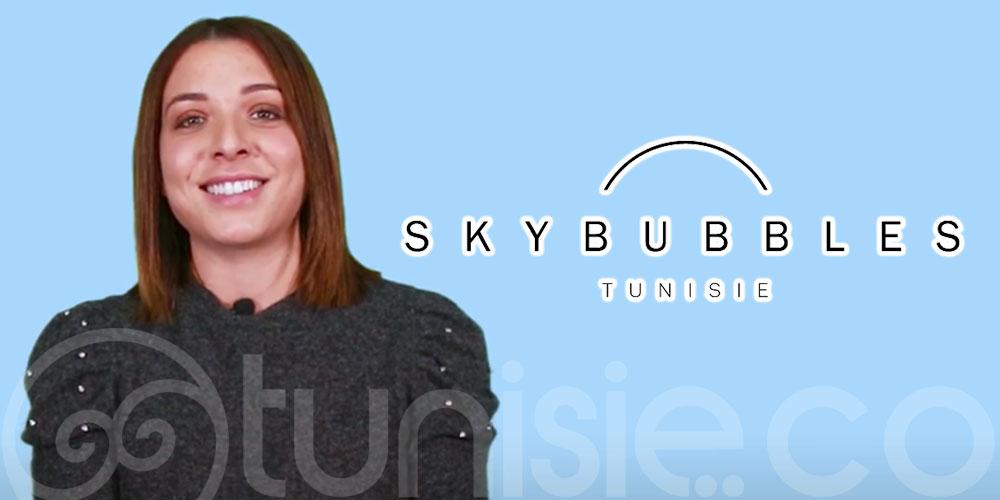En vidéo: Nadia Makni présente les Sky Bubbles en Tunisie