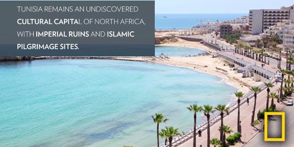 En vidéo : National Geographic Travel recommande la Tunisie dans le top 5 des pays à visiter