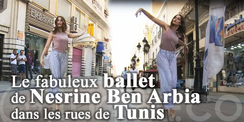 Le fabuleux ballet de Nesrine Ben Arbia dans les rues de Tunis