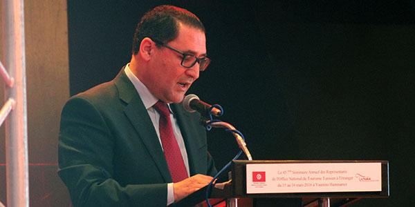 Allocution de M. Abdellatif Hmam DG de l'ONTT - Séminaire annuel des représentants de l'ONTT