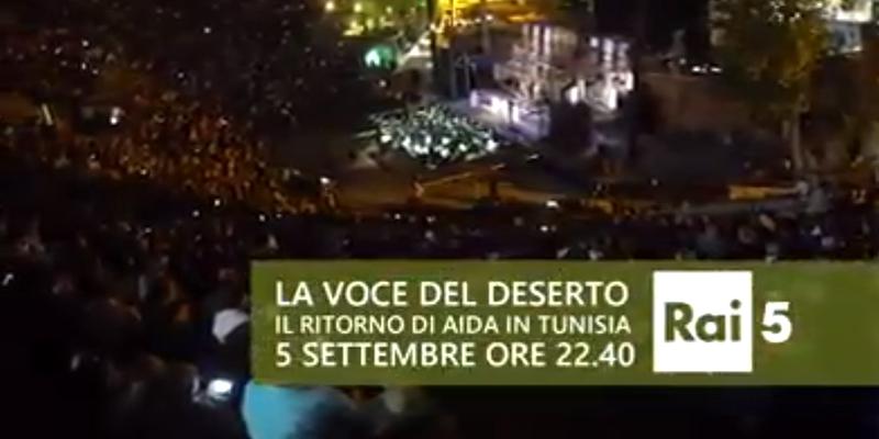 Opera Aida à Carthage sur Rai 5 (bande-annonce)