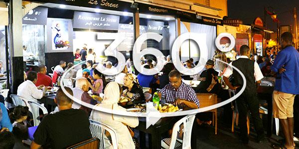 Vivez le festival du Poisson de la Goulette en 360°