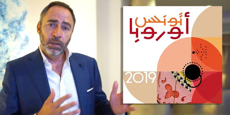 Patrice Bergamini donne le top départ de la Semaine de l'Europe