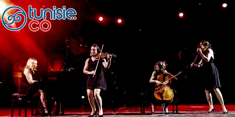 Quartet Salut Salon de l'Allemagne à Hammamet, à couper le souffle !