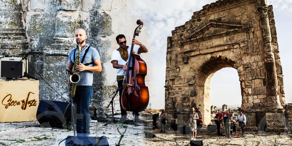En vidéo: SiccaJazz, Ephemera au site archéologique Maktaris