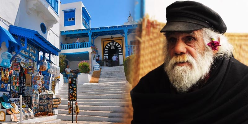 Sidi Bou Saïd aux yeux de Habib Chlegou
