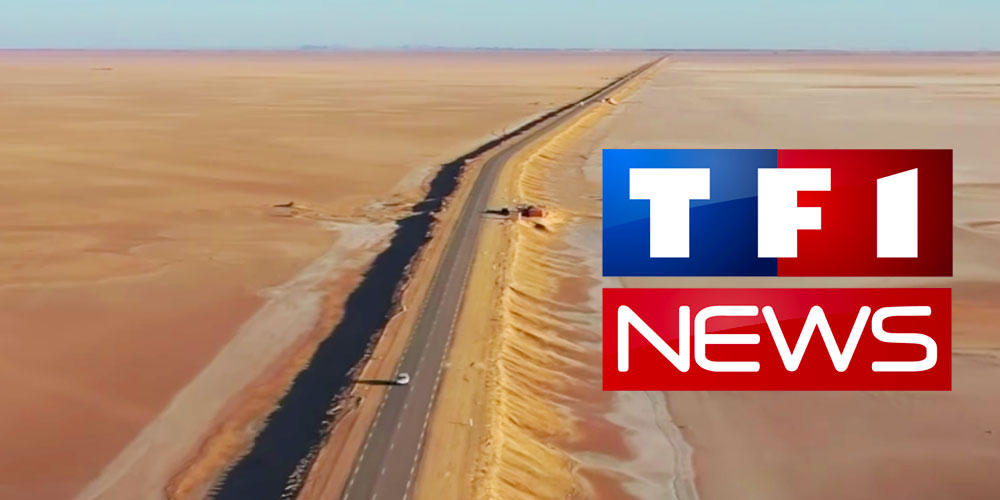 En vidéo : Le Sahara tunisien à la une du journal de TF1