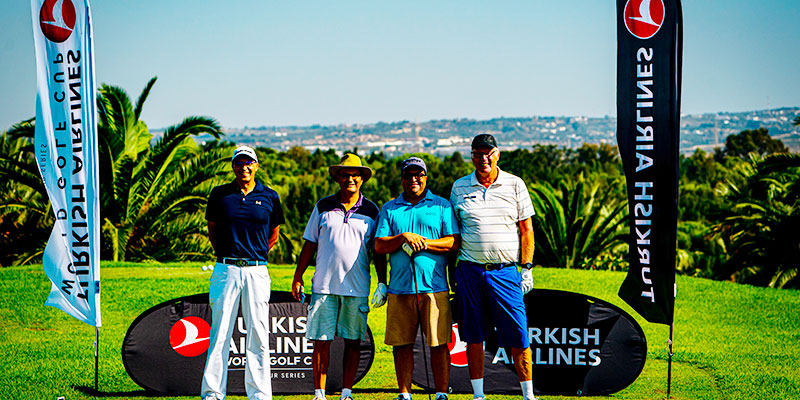 En vidéo : La Turkish Airlines World Golf Cup à Hammamet