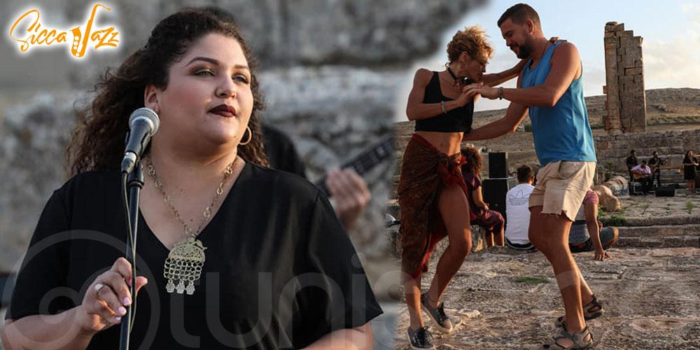 En vidéo : SiccaJazz, quand Meriam Toukabri fait vibrer le site antique d'Althiburos