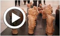 Vernissage de l'exposition de céramique 'Toys Story' de Mohsen Zoughlami