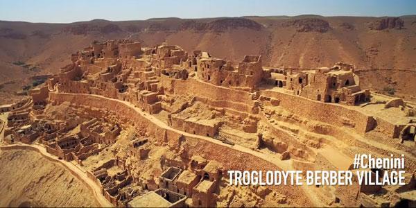 A la découverte du village troglodyte de Chenini