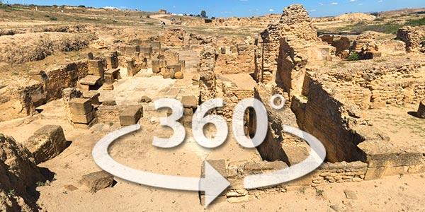 Découvrez le site archéologique UTHINA en 360° avec Google Street View