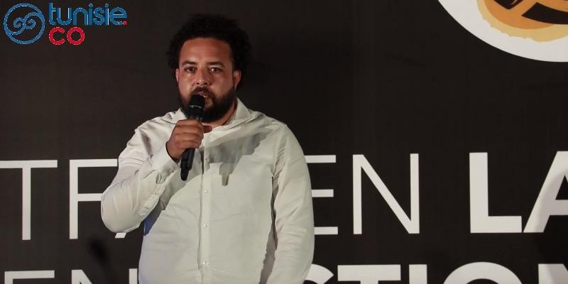 Wassim Ghozlani parle de Maison de l'Image à l'event Tfanen