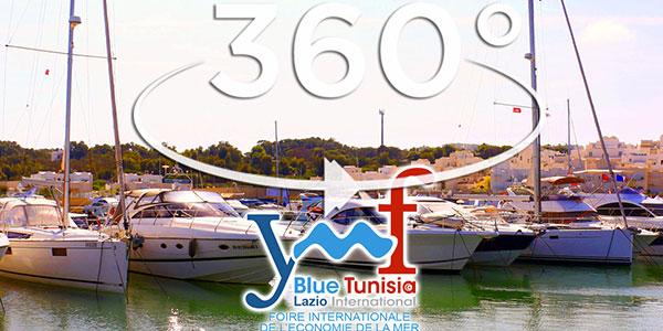 Inauguration et visite du Yacht Med Festival en 360°