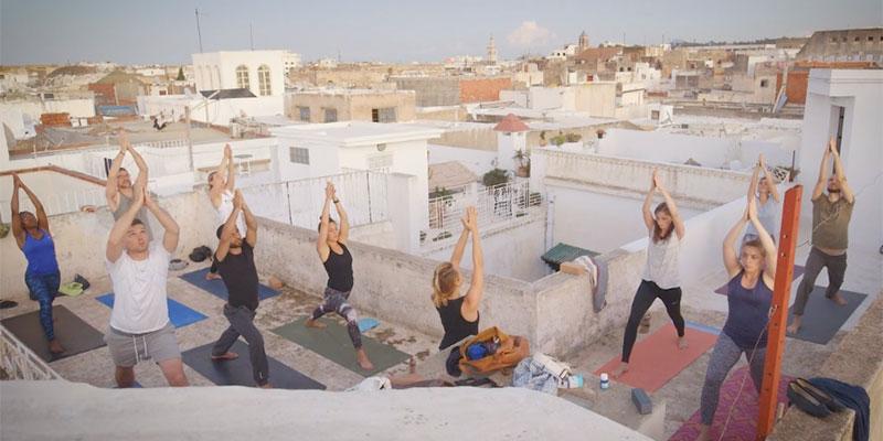 En vidéo : La médina de Tunis lieu de rêve pour du Yoga